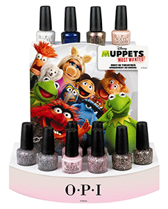 OPI Muppets Most Wanted collection Spring 2014