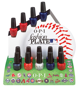 OPI Fashion Plate MLB collection 2014