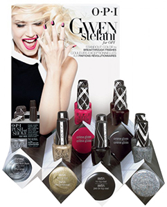 Gwen Stefani OPI display