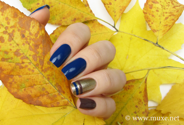 OPI blue nail polish swatches