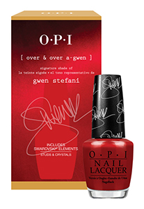 Gwen Stefani OPI red