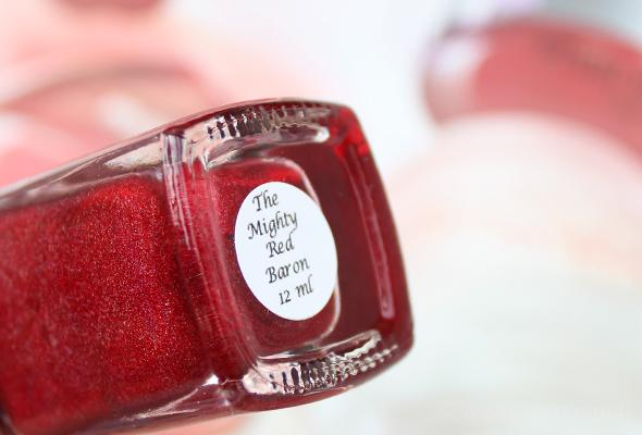 Llarowe Mighty Red Baron bottle