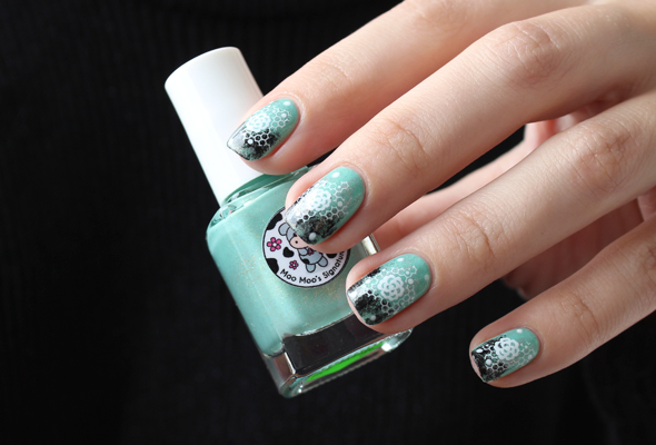 Moo Moo Signatures indie nail polish swatch design