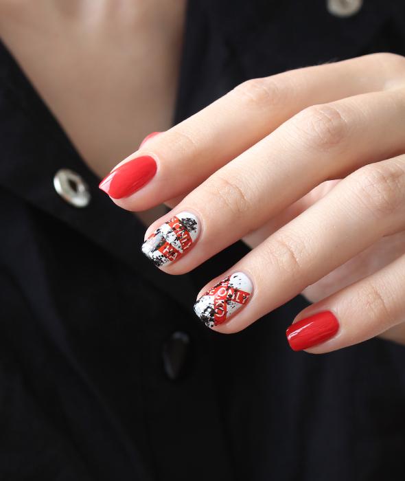 Sally Hansen Complete Salon Manicure 560 Kook-A-Mango