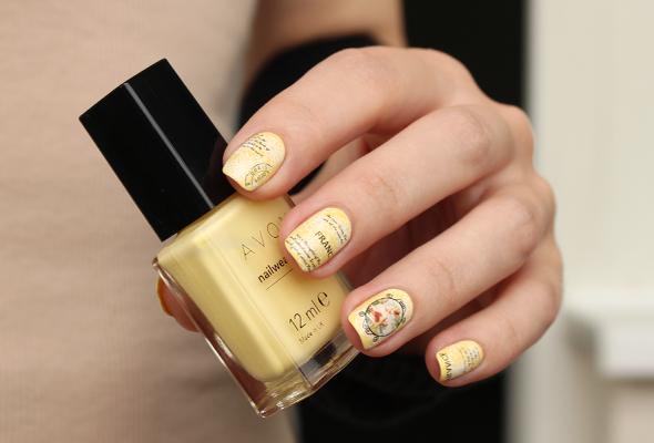 Avon Lemon Sugar nail polish