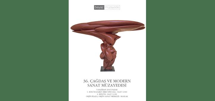 5 Haziran 2016 Çağdaş ve Modern Sanat Müzayedesi - Beyaz Art