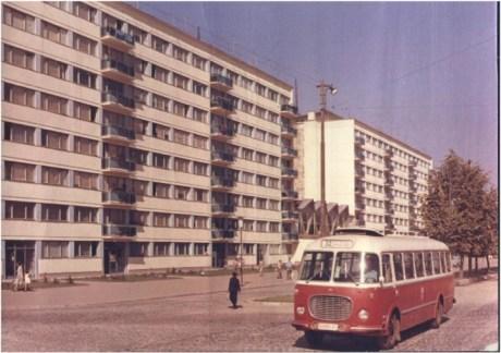 Piata Pieptanari in anii '60.