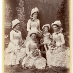 Knox family bridesmaids, Sydney, March 1882 / photographer Freeman & Co., Sydney