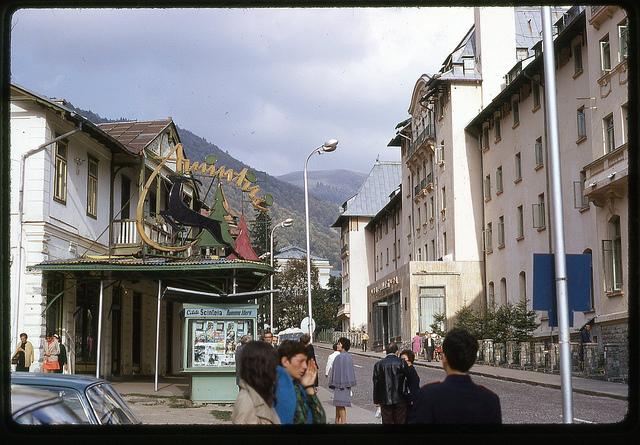Hotel Palace Sinaia, 1971