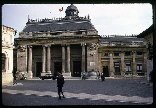 Clădirea Marii Adunări Naționale. București, 1971.