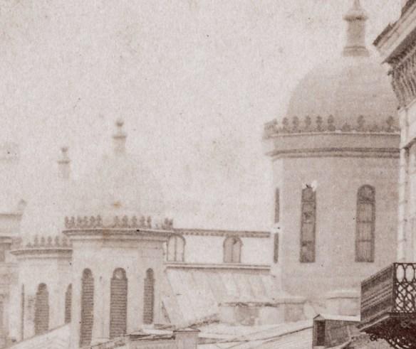 Turlele bisericii Sarindar.