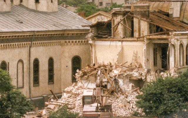 Demolarea asezamintelor Nasturel Herescu