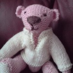 aaron the pink teddy