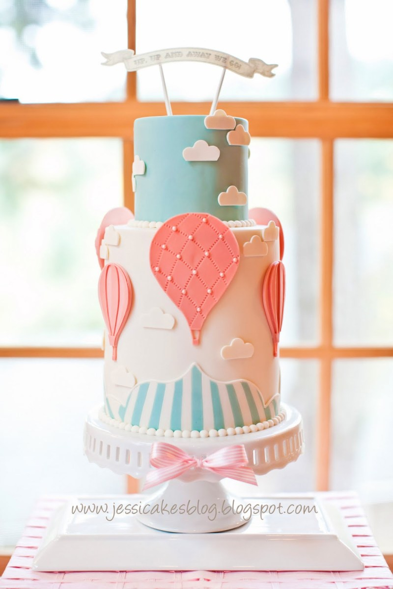 Large Of Girl Baby Shower Cakes
