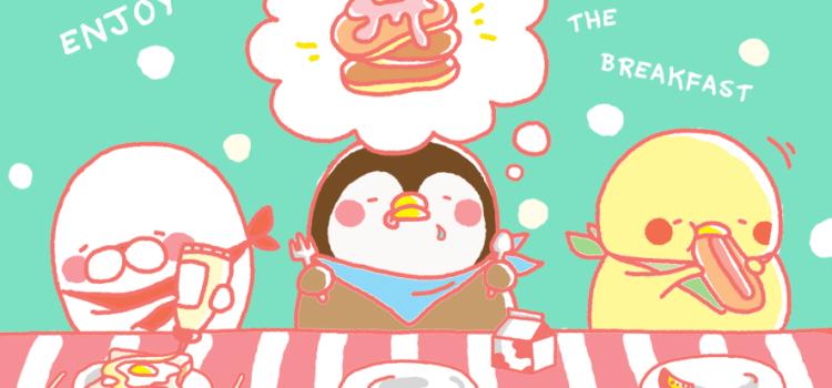 呆萌爆炸力「吃貨雞仔」插畫家宇晴「只要努力,就有機會成功。」