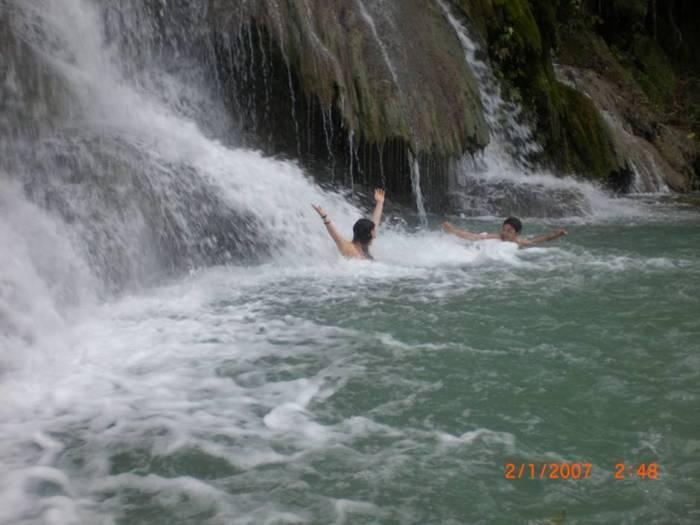 Splashing around in Koleem Jaa