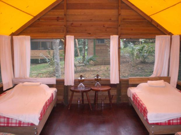 Where to stay in Belize: Macal River Camp