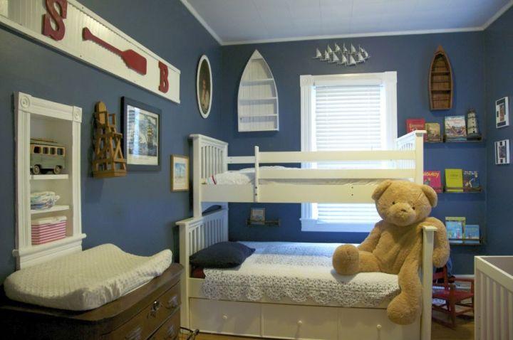 Boys Room Paint Ideas In Blue