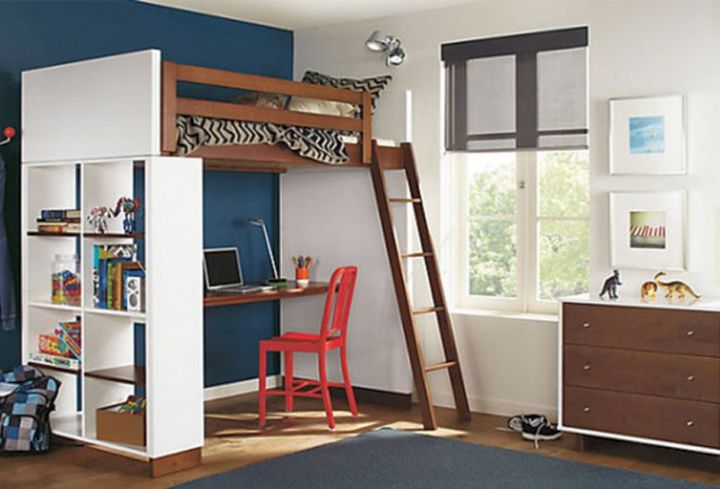 Image Result For Full Size Loft Bed With Desk Fors