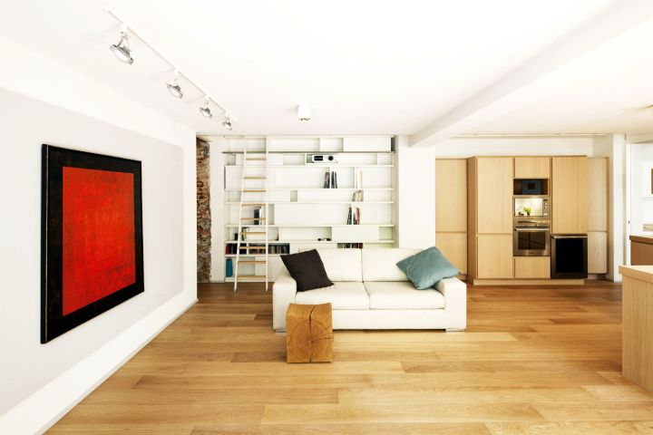 Wooden floor tile flooring ideas for living room for Flooring ideas for family room