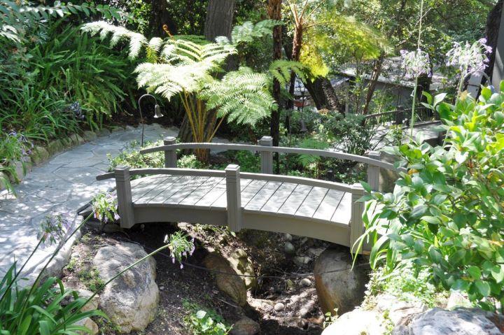 Simple Garden Bridge Designs