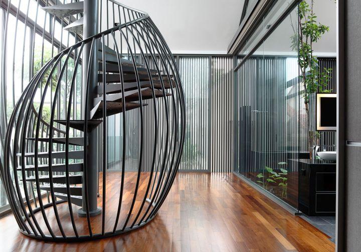 Detached Modern Bungalow By Hyla Design Singapore