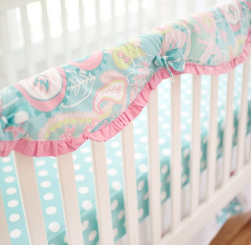 Medium Of Crib Rail Cover