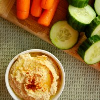 White Bean Pumpkin Hummus
