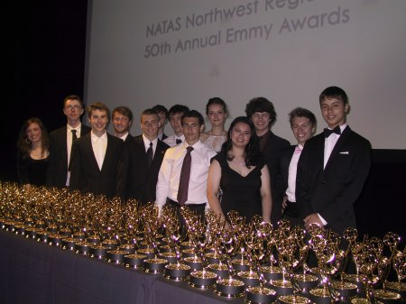 BHS Video Students at the 2013 Emmy Awards