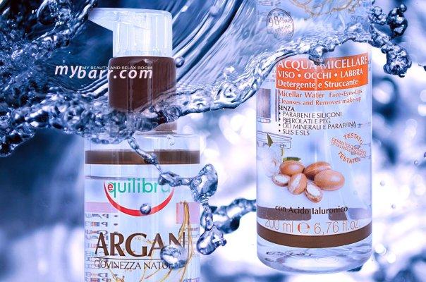 struccante naturale da supermercato acqua micellare argan equilibra mybarr