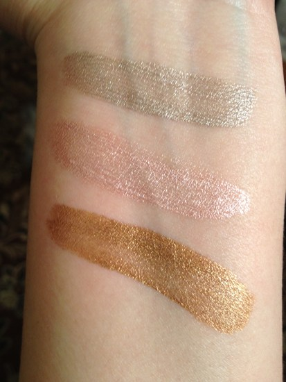 Jane Cream Eyeshadow Swatches