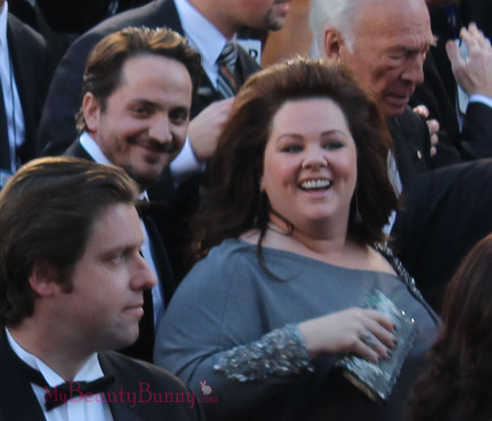 Melissa McCarthy and Ben Falcone Oscars 2013