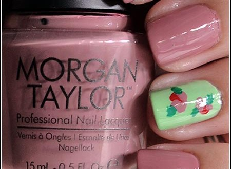 Morgan Taylor Roses Nail Art Cruelty Free