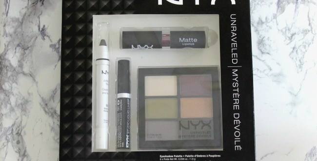 NYX Unraveled Makeup Set Review