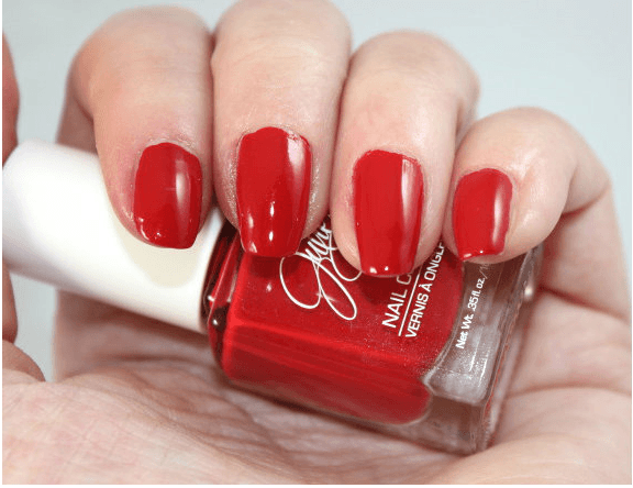 Jesse's Girl Cherry on top Nail Polish Swatches