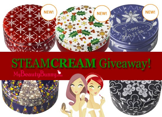 Steam Cream US giveaway