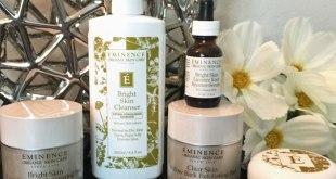 eminence-organics skin brightening collection