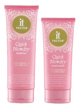 Quick Blowdry Shampoo & Conditioner