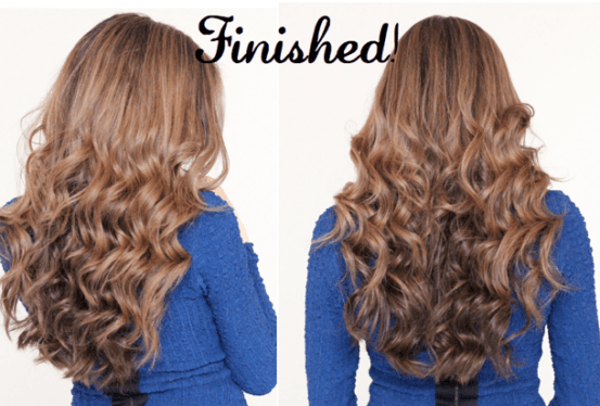 beachy waves tutorial - back