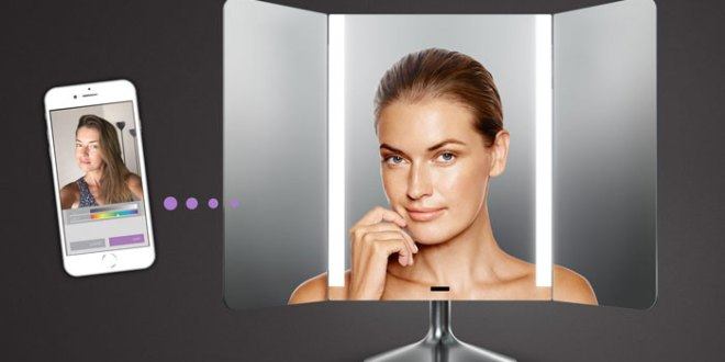 simplehuman app enabled mirror