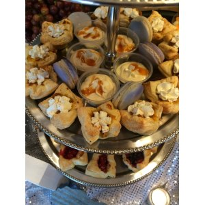 Dazzling Food Truck Martini Bar Is Bridal Shower Bridal Shower Food Table Decorations Bridal Shower Food Labels
