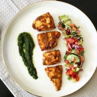 Spicy Tandoori Fish