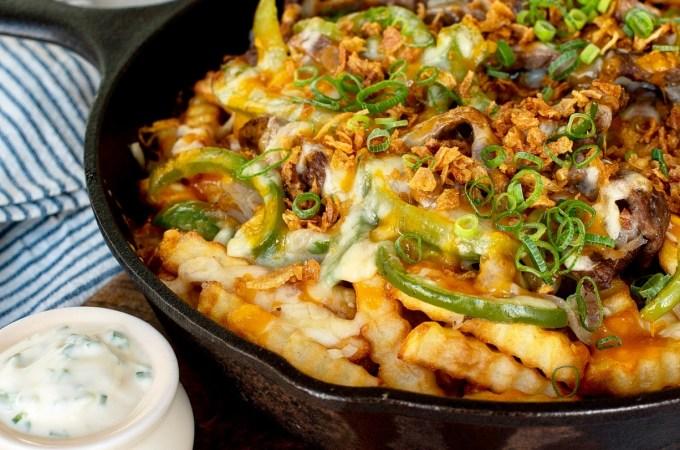Loaded Crinkle Fries Recipe