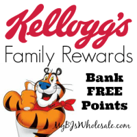 125 More Points for Kellogg's Family Rewards Members