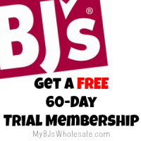 *EXPIRED*ONLY 3 Days left for a FREE 60 Day Trial BJs Membership