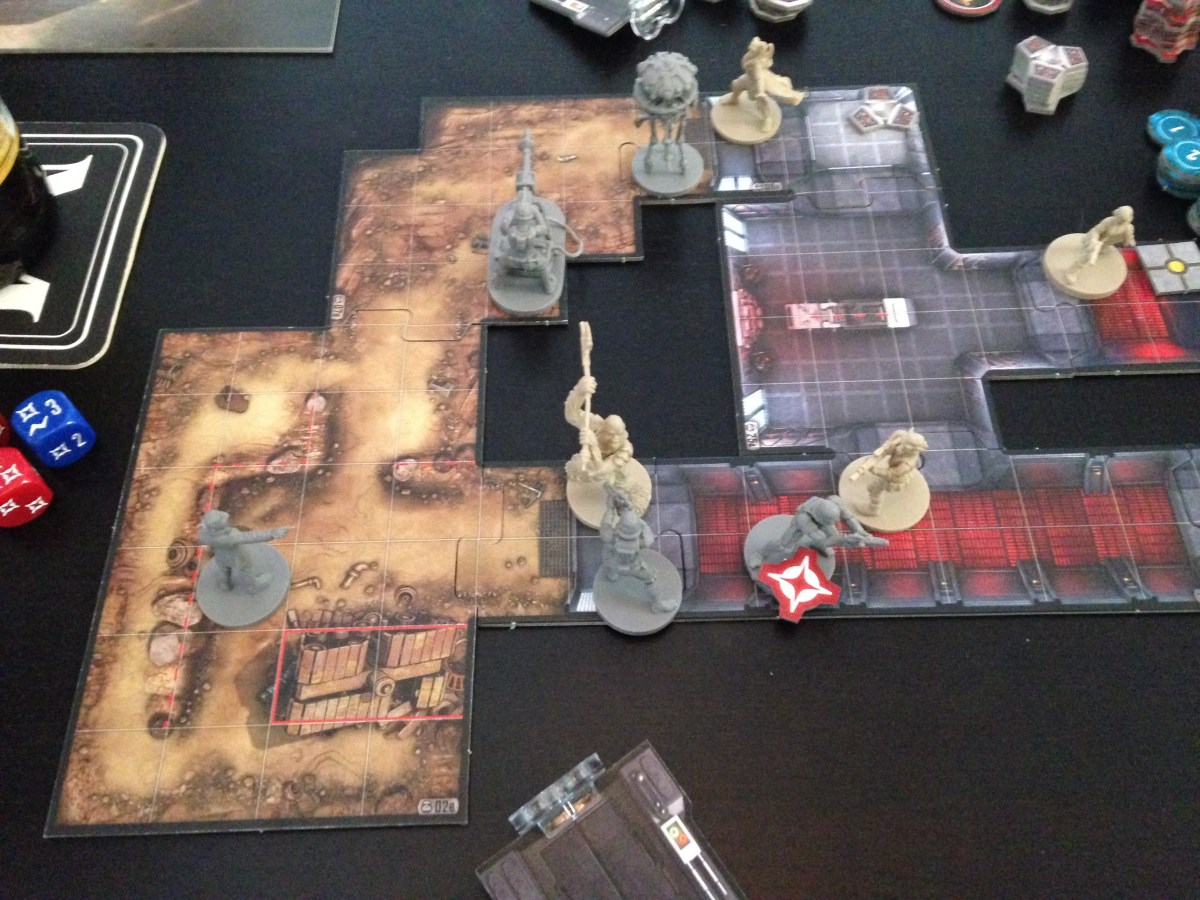 A Long Weekend of Board Games: Star Wars Imperial Assault, El Grande, and 7 Wonders Duel