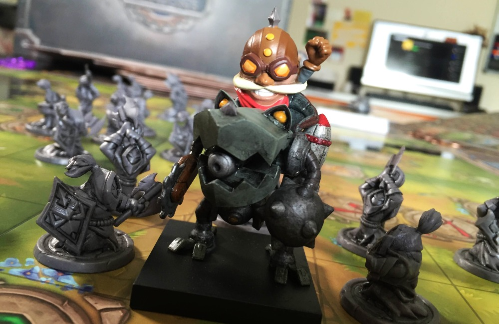 Riot Games's Mechs vs. Minions League of Legends Board Game Stirs Up a Storm