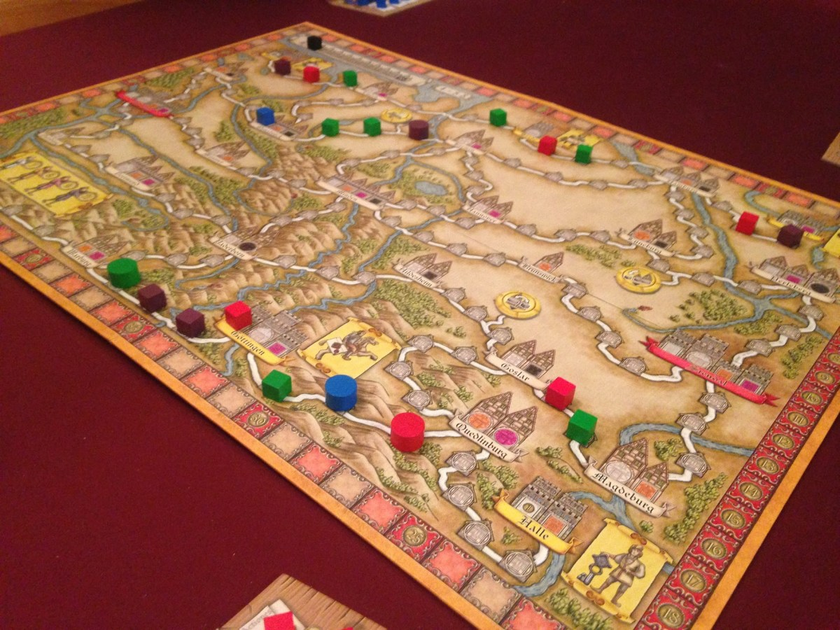 December Monthly Retrospective: Hansa Teutonica, Citadels, and Century Spice Road