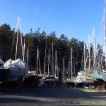 Wintering Aboard in the Boatyard: Our Experience in Canoe Cove Marina, Canada