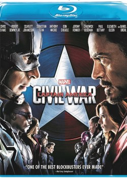 Marvel's Captain America: Civil War is Now Available on DVD!